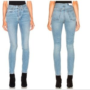 RE/DONE Originals High Rise Jeans Lt. Wash, 30